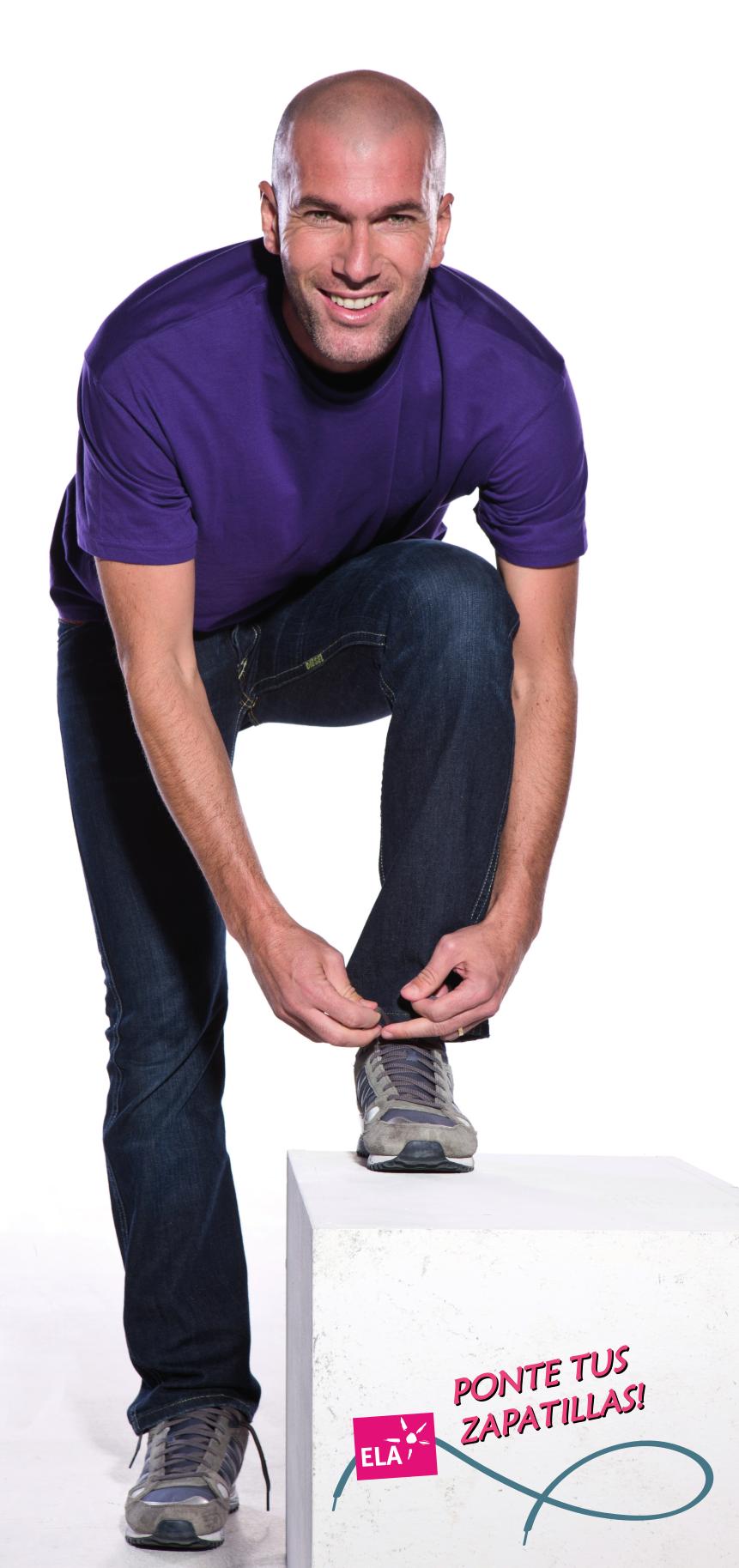 Zidane Ponte tus zapatillas